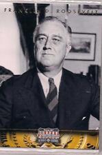 2012 Panini Americana Heroes & Legends Franklin D. Roosevelt