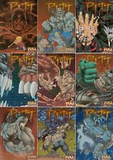 PITT 1995 INTREPID ASHCAN COVERS EMBOSSED FOIL INSERT CHASE CARD SET C10 TO C18