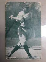 1927 Ty Cobb post card