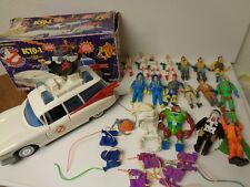 Kenner The Real Ghostbusters Ecto 1 Huge Lot Vintage