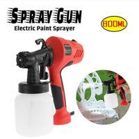 400W 110V Electric Spray Gun Paint Sprayer Painter 800ml Handheld Painting Tool