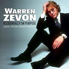 Warren Zevon - Accidentally on Purpose CD Go Faster Records