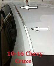 For 2010-2016 CHEVY CRUZE CHROME ROOF TOP TRIM MOLDING KIT