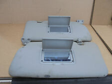 NISSAN X-TRAIL 2002 PAIR OF SUN VISORS WITH 2 MIRRORS