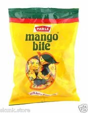 100 Parle Mango Bite Candy with Juicy Mango Taste Flavor Tasty Candies 320gm