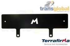 Winch Bumper Number Plate Mounting Plinth for Land Rover Defender - Terrafirma