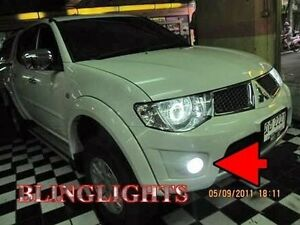 2010 2011 2012 2013 Mitsubishi L200 Xenon Fog Lamps Driving Lights Foglamps Kit