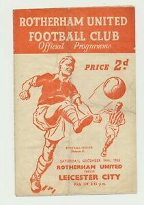 1950's 1960's lot of 12 programs Rotherham Leicester Birmingham