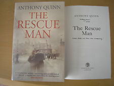 ANTHONY QUINN - THE RESCUE MAN  1st/1st  HB/DJ  2009  SIGNED, LINED & DATED