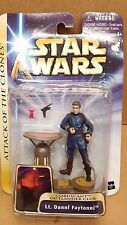 Star Wars Saga Attack of the Clones LT. DANNL FAYTONNI  Action Figure  Rare