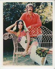 """Sonny & Cher 8"""" x 10"""" The Sonny & Cher Show Era-Color Photo-1970s-#180"""
