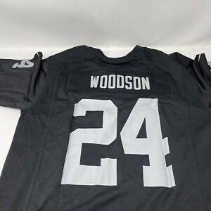 Charles Woodson Oakland Raiders Nike Jersey Youth Large