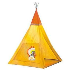 Buengna Indian Teepee Tripod Play Tent Kids Hut Children House