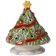 VILLEROY & BOCH Christmas Light Windlicht Weihnachtsbaum Teelichthalter 11,8 cm