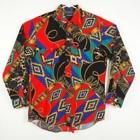 Wrangler Cowboy Cut Rodeo Shirt Western Single Needle 16.5 x 34 Made in USA
