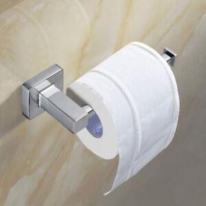 2 in 1 Toilettenpapierhalter mit Abdeckung Klopapierhalter aus rostfreiem Edelstahl zus/ätzliche Ablage f/ür feuchte Toilettent/ücher Smartphone Tablet Montage durch Bohren oder durch Kleben