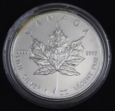 2008 1 oz Canadian Silver Maple Leaf Coin 9999 AG