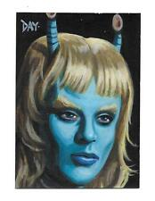 Star Trek TNG Portfolio Prints Sketch Card by artist DAVID DAY Extremely Limited