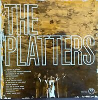 "Platters - The Platters.  1963 Aussie Mono 12"" LP. Autographed By Two Members."