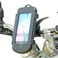 Waterproof Motorcycle Bike Locking Strap Tough Case Mount for Samsung Galaxy S6