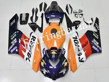 Fit for CBR1000RR 2004 2005 Repsol Deep Blue Orange ABS Injection Fairing Kit
