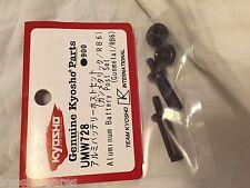 KYOSHO RB6, ALLOY BATTERY POST SET, GUN METAL, UMW728