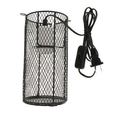 Reptile Cage Anti-scald Heating Lamp Shade Light Holder Bulb E27 Us Plug