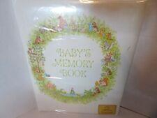 Hallmark Vintage Baby's Memory Book Never Used Animals Album