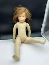 140 / 300 Meissen / Käthe Kruse Puppe Anna 20 Cm Top Zustand Ovp & Zertifikat