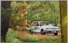 """More details for triumph 2000 mk 2 car colour postcard 1970s 5 ½""""x 3 ½"""" unused"""