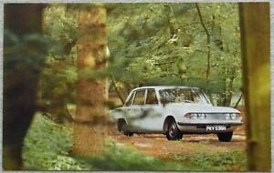 "TRIUMPH 2000 Mk 2 Car Colour Postcard 1970s 5 ½""x 3 ½"" Unused"