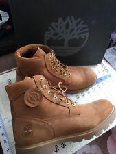 NIB Men's Timberland Basic Boots Nubuck Waterproof TB019079 wheat sz 11 USA EU45
