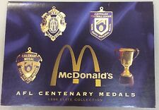 Afl centenary medals 1996 elite collection
