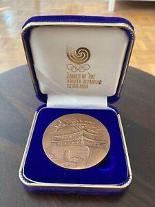 Seoul 1988 athlete participant/participation medal, summer Olympic Games Korea