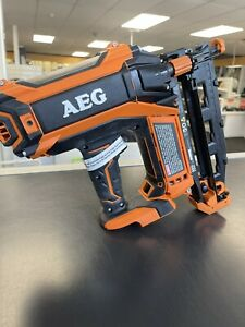 AEG 18V 16GA Brushless Straight C Brad Nailer Skin Only B16N18 Finish PRODRIVE