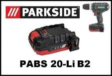 Bateria taladro Parkside 20V Li B2 Battery Cordlees Drill driver PABS 20-Li B2