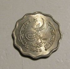 Pakistan 1969 10 Paisa unc Coin