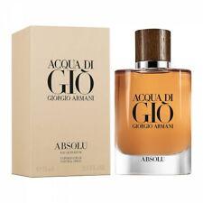 Giorgio Armani Acqua Di Gio' Absolu 75ml Eau De Parfum Profumo Uomo