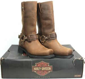Harley-Davidson Men's size 11M Westmore Motorcycle Harness Boots D93316