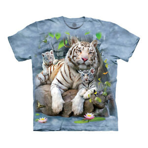 The Mountain White Tigers of Bengal Adult Unisex T-Shirt