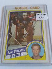1984-85 Topps #14 Tom Barrasso RC : Buffalo Sabres
