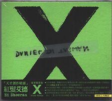 Ed Sheeran: X - Deluxe Edition (2014) CD OBI SLIPCOVER TAIWAN