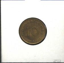Duitse Rijk Jägernr: 364 1939 F Aluminium-Brons 1939 10 Reichspfennig Keizeraren