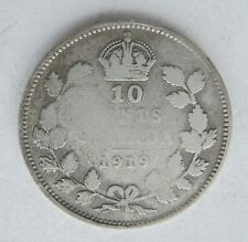 1919 Canada Dime 10 cents  - circulated