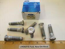 "7 OEM PCS IN 1 FORD BOX 1994/1998 LINCOLN MARK VII(8) ""BOLT"" BRAKE-FRONT WHEEL"