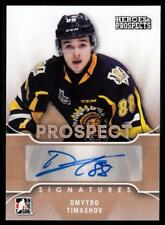 2015-16 ITG Heroes and Prospects Prospect Autographs #PSDT1 Dmytro Timashov AUTO