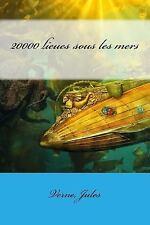 20000 Lieues Sous les Mers by Verne Jules (2017, Paperback)