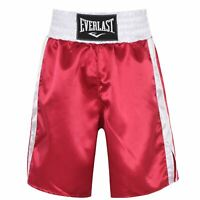 Everlast Boxing Trunks Mens Gents Competition Shorts Pants Trousers Bottoms