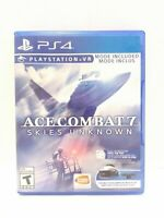 Ace Combat 7: Skies Unknown (PlayStation 4, 2019)  Game and Case Tested