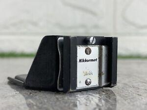 Vintage Nikon Nikkormat Hot Shoe Flash Attachment FE2 FE FM2 FE3 SLR Rare Black